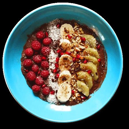 clean eating bowl